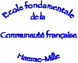 Logo de l'école fondamentale de la communauté française